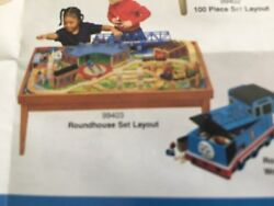 New In Box Learning Curve Thomas Brio Train Dollhouse Wooded Playtable Frame