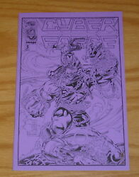 Cyberforce 3 Vf/nm Purple Ashcan - Pitt - Numbered 278 Of 3000 Image Comics