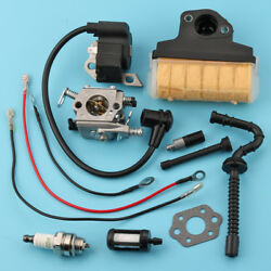 Fit Stihl Ms210 Ms230 Ms250 025 Carburetor Ignition Coil Air Filter Saw