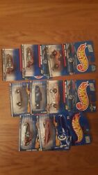 Hot Wheels Lot Of 8 Cars. Year 2000. Mint In Box.