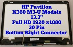 Fhd Lcd Touch Screen Assembly Digitizer For Hp Pavilion X360 13-u157cl 13-u124cl