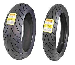 Pirelli Tire Angel St Front And Rear Set 120/70-17 180/55-17 Motorcycle Tires