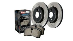 StopTech 937-47521 Street Axle Pack Rear Incl. Slotted Rotors And Pads