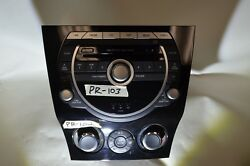 09-11 Mazda RX8 Factory Stereo Radio climat control 2009 2010 2011 oem used RX-8