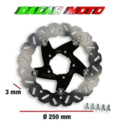 Whoop Disk Disc D.250 Thick 3 Mm Malossi Gilera Runner Fxr 180 2t Lc 6217456