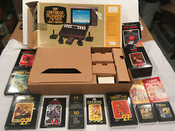 1977 Sears Video Arcade Original Box Complete Console System Package Heavy Sixer