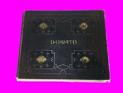 Antique Church Catalog Art Alter Monument Statue Funeral Cemetery Nativity Tomb