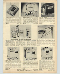 1958 Paper Ad Little Lady Toy Play Super Electric Range Oven Stove Coca Cola Tap