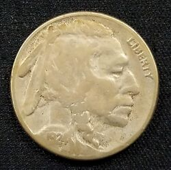 1924 S Buffalo Nickel A Low Mintage Of Only 1,437,000
