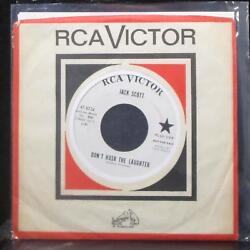 Jack Scott - Letand039s Learn To Live And Love Again 7 Mint- Promo Vinyl 45 Rca Usa