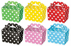 Party Boxes Spot Cardboard Lunch Food Loot Treat Gift Box 2 - 12