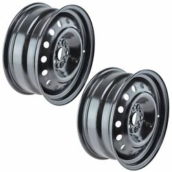 Dorman 939-152 16 Inch Steel Wheel Pair Set Of 2 Direct Fit For Chevy Cruze New