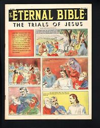 The Eternal Bible 1-1946-very Rare Comic-oversized-southern States