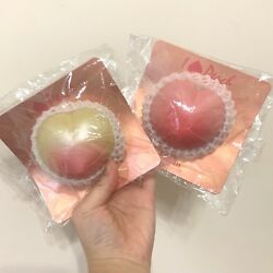 Rare Japanese Ibloom Peaches Nonreproduced Squishy Bundle Set Cell Phone Strap