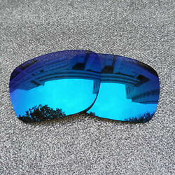 2 Sets of Ice Blue Polarized Replacement Lens For-Oakley Fuel Cell Frame OO9096