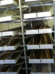 Farm Tek Hydroponic Fodder Growing System Used 8 Systems With 28 Trays Each.