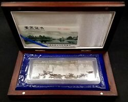 1998 4 Pc, 20 Yuan, Commemorative Silver Coins Of China Guilin's Landscape