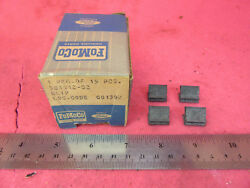 Nos 1968-1970 Ford Lincoln Mercury Radiator Grill Clips Retainers Ltd Xl Torino