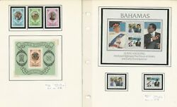 British Stamp Royalty Collection, 22 Pages 1981 Wedding Princess Diana Ab