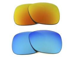 NEW REPLACEMENT FIRE RED  ICE BLUE LENS FIT RAY BAN RB4171 ERIKA 54mm SUNGLASSE