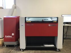 Trotec Laser Cutter Engraver Speedy 360 w Fume Exhaust Like New