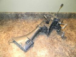 Yamaha Mariner Midsection And Transom Clamp Bracket From 1977 5 Hp