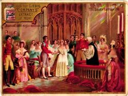 0207 - 4 Advertising Litho Cards From Liebig Set 207 C1895 English -nrs 1 To 4