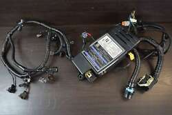 2015 Mercury Engine Harness And Power Cover 8m0057700 8m0057696 150 Hp 4 Stroke