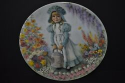 Mary, Mary Vintage Decorative Collector Plate Signed By John Mcclelland