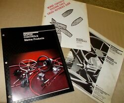 Morse Controls Marine Products Cat. Steering Cable Cross Ref Guide '84 Prices
