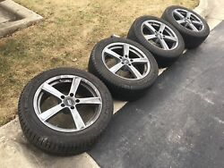 Michelin X-ice Xi3 245/50r18 104h Used Winter Tires/rims And Pressure Sens. 10/32