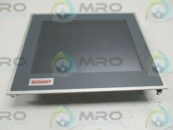 Beckhoff Cp6201-0001-0020 Touch Screen 24vdc Used