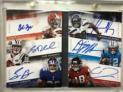 2018 Origins Six Signatures Mayfield Darnold Barkley Penny Moore Ridley 10/10