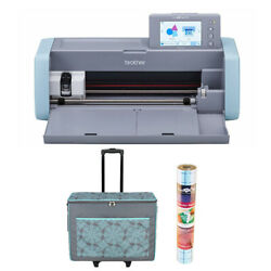 Brother ScanNCut DX Home Electronic Cutting Machine with Tote Bag Bundle
