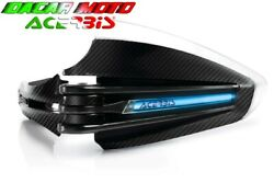 Pair Hand Guards Black X-tarmac + Assembly Kit Universal Motorcycle Acerbis