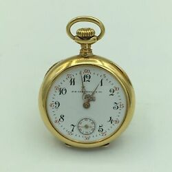 Vacheron And Constantin J. E. Caldwell And Co. 18k Yellow Gold Ladies Pocket Watch
