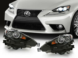 F Sport Led Dual Projector Headlight For 14-16 Is200t/is250 Xenon Hid To Upgrade