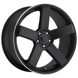 (4) 20x10 Black Dropstars 644 5 Spoke 644B 5x4.5/5x120 40 Nitto Ridge Grappler