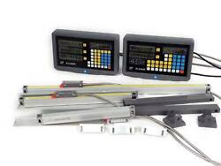 2/3 Axis Digital Readout Ttl Linear Glass Scale And Magnetoscale For Milling Lathe