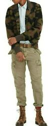 Polo Denim And And Supply Camo Foliage Wool Bomber Jacket 298+