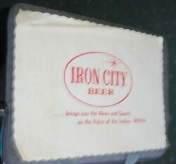 2 1970s-80s Iron City Beer And Fred Koch Placemats