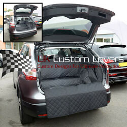 Fits Nissan Qashqai Low Floor Tailored Quilted Boot Liner Mat 2021+  320