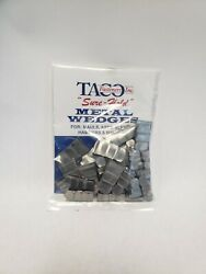36 Small Flat Wedges For Hammers Hatchets And Tack Hammers 3 Sizes