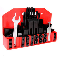 T-Slot Clamp Kit 58 pcs Stud Hold Down Clamping Set Upgraded for Bridgeport Mill