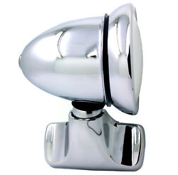 New Talbot Classic Style Chrome Bullet Door Mount Side View Mirror / Vintage L=r