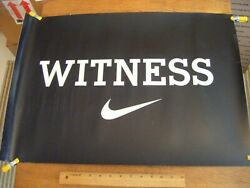 Rare 2007 Cleveland Cavaliers Witness Thick Poster Lebron James