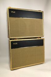 1963 Vox AC-30 Combo Amp w '64 Extension Cab in Bell & Hern Pony Boy Sparkle!