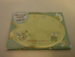 Sanrio Keroppi Notecards With Envelopes Stickers Message Cards Candies