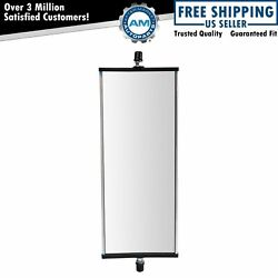 West Coast Mirror Manual 16x6 Aluminum Lh Or Rh For Commercial Heavy Duty Truck
