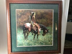 Howard Terpning Print - Color Of Sun With Certificate Of Authenticity